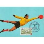 CARTE MAXIMUM 1982 / COUPE DU MONDE DE FOOTBALL  / PARIS