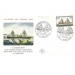 ENVELOPPE ILLUSTRÉE 1er JOUR 1965 / JOURNÉE DU TIMBRE / LE WASHINGTON