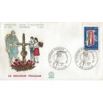 ENVELOPPE ILLUSTRÉE 1er JOUR 1977 / LE SOUVENIR FRANÇAIS / LILLE