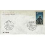 ENVELOPPE 1er JOUR 1971 / POLLUTION DES EAUX DE MER / MONACO