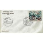 ENVELOPPE 1er JOUR 1972 / 400ème ANNIVERSAIRE DE LA BATAILLE DE LEPANTE / MONACO