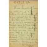 chalons sur marne 1917 carte poilu VERSO