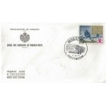ENVELOPPE 1er JOUR 1981 / CONGRES DE ROME COMITE ARCTIQUE / MONACO