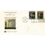ENVELOPPE 1er JOUR 1961 / COMMISSION ECONOMIQUE POUR L'AMERIQUE LATINE  / NATIONS UNIES NEW YORK