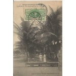 BOULEVARD DE COTONOU DAHOMEY / 1913