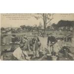 CAMPEMENT DE TROUPES A ECOIVRES / 1916