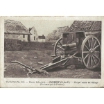 CARENCY RESTES DU VILLAGE APRES COMBATS / 1916