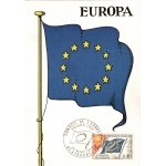 CARTE MAXIMUM 1989 / CONSEIL DE EUROPE / STRASBOURG