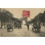 PARIS AV DES CHAMPS ELYSEES / 1907