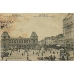 BRUXELLE GARE DU NORD ET PALACE HOTEL / 1919