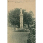CHAVAGNES EN PAILLERS (VENDEE) MONUMENT VIERGE DE LA COMMUNAUTE