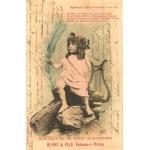 APOLLON ENFANT CARTE COLORISÉE / VONNAS (AIN) / 1906