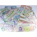Lot de 25 billets de Banques de différents pays