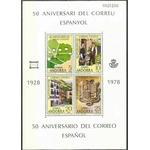 Andorre - espagnole Bloc 1978