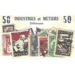 50 TIMBRES INDUSTRIES & METIERS