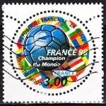 FOOT COUPE DU MONDE FRANCE 1998