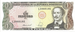Rep Dom 1 peso