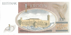 Estonie 1 kroon (1)
