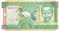 Gambie 10 dalasis