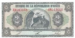 Haiti 2 gourdes