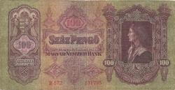 Hongrie 100 pengo