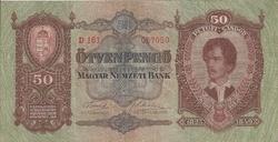 Hongrie 50 pengo