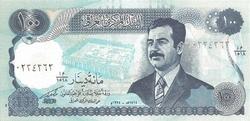 Irak 100 dinars