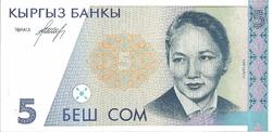Kirghizistan 5 som