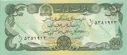 50 afghanis