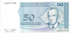 bosnie 50 dinara petit