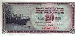 yougoslavie20dinara