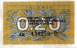 lituanie0.2talona