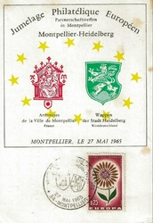 1965jumelageEuropéen