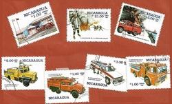 NICARAGUA POMPIERS