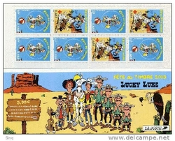 carnet lucky luke 2003