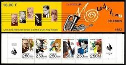 carnet musiciens 1992