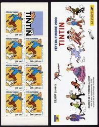 carnet tintin 2000