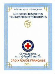 carnet cx rouge 1953