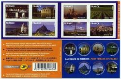 carnet france en timbre 2009