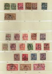 timbre maroc oblitérés 1902-1917