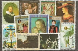 50 timbres TABLEAUX