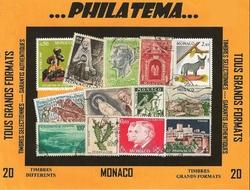 20 timbres MONACOd