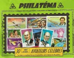 30 timbres aviateurs celebres