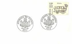 enveloppe 1er jour1987BERLINE