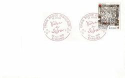enveloppe 1er jour1986CX ROUGE DA SILVA