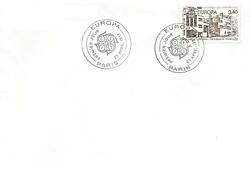 enveloppe 1er jour1987EUROPA STEVENS