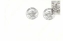 enveloppe 1er jour1987HENRI POURRAT GASPARD DES MONTAGNES