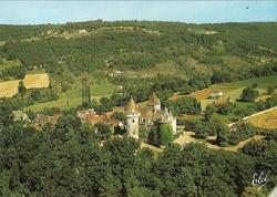 carte postale chateau des milandes
