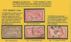 TIMBRES TYPE MERSON