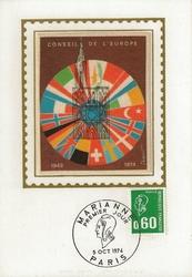 MARIANNE CONSEIL DE EUROPE 1974